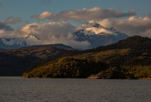 7P8A9449 Caleta Tortel Northern Patagonia Southern Chile