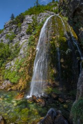 0S8A3797 Grunas Waterfall Theth Albanian Alps Albania