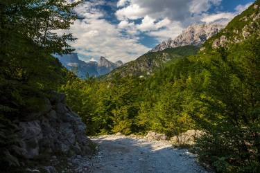 0S8A3812 Theth Valley Albanian Alps Albania