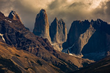 7P8A2939 Torre del Paine Patagonia Southern Chile