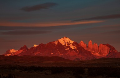 7P8A3113 Torre del Paine Patagonia Southern Chile