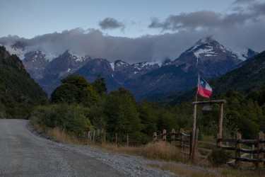 7P8A8517 Puerto Rio Tranquilo Aisen Northern Patagonia Southern Chile