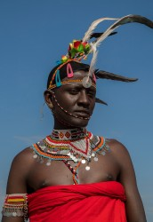 AI6I1650 Tribe Rendile Lake Turkana Kenya