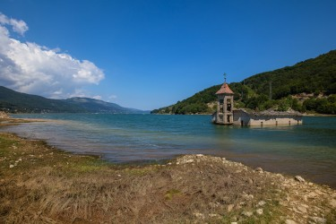 0S8A6705 Sinking Church Lake Mavrovo NP Macedonia