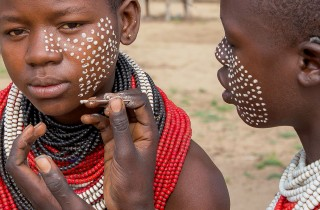 Tribe Karo - Kwego, Omo Valley, South