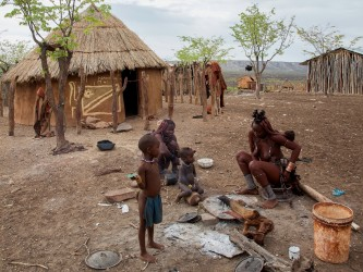 8R2A8202 Tribe Himba North Namibia