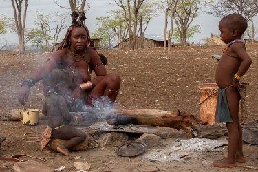 8R2A8206 Tribe Himba North Namibia