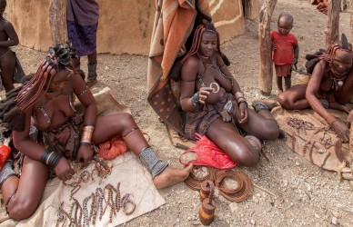 8R2A8261 Tribe Himba North Namibia