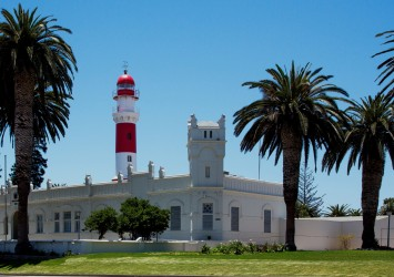 8R2A6878 district court and lighthouse Swakopmund West Namibia