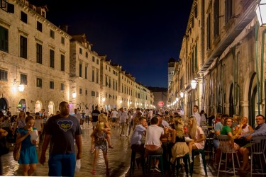 8R2A1153 Stradun by night Dubrovnik South Dalmatia Croatia